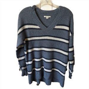 American Eagle oversized waffle knit sweater XXS